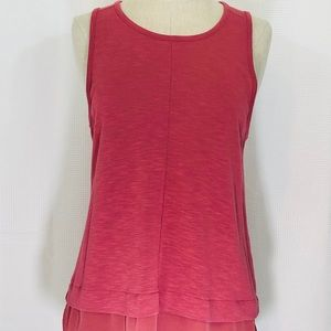 J Crew Salmon Medium Sleeveless Top